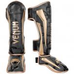 Chrániče holení a nártu Elite dark camo/gold VENUM