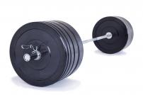 Olympijská činka TRINFIT 170 kg Bumper training