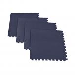 Podložky - puzzle pod fitness vybavení Spokey Scrab černá 4 kusy