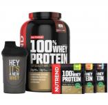 NUTREND 100% Whey Protein NEW TASTE 2250 g + šejkr + 3x vzorek ZDARMA!