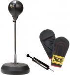 Stacionární reflexní boxovací hruška + rukavice a pumpička EVERLAST