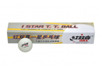 Míčky na stolní tenis DHS 40 mm - 6 kusů