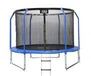 GoodJump 3UPVC modrá trampolína 305 cm + ochranná síť + žebřík
