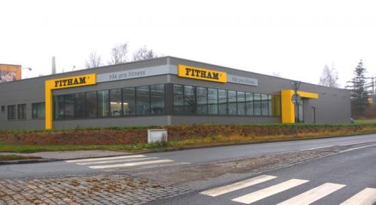 Prodejna Fitham Liberec boční pohled