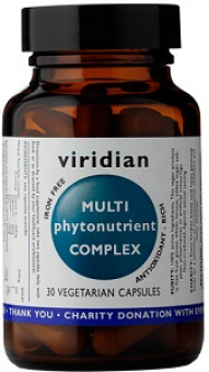 VIRIDIAN Multiphyto Nutrient 60 cps