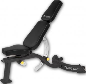 Posilovací lavice na jednoručky Tunturi Platinum - polohovací lavice