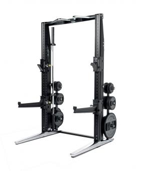 Posilovací lavice na bench press rack personal chromeg