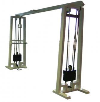 Kladkový stroj Protisměrné kladky s hrazdoug