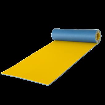 Podložka na cvičení dvouvrstvá 10 mm YATE zelená modrá