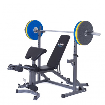 Posilovací lavice na bench press Trinfit set RX10