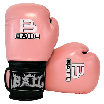 Boxerské rukavice dětské B-fit BAIL světle růžové 21eb6772f7