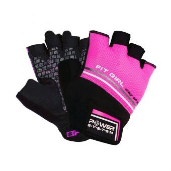Fitness rukavice Fit Girl Evo růžové