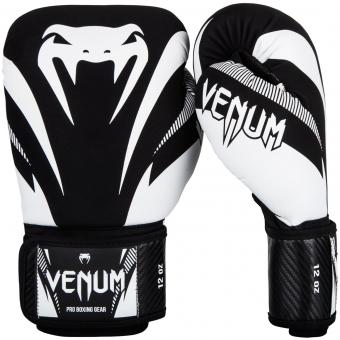 Boxerské rukavice Impact černé bílé VENUM