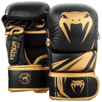 MMA sparring rukavice Challenger 3.0 černé zlaté VENUM