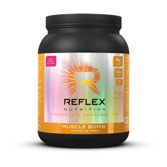 REFLEX Muscle Bomb CAFFEINE FREE 600 g fruit punch
