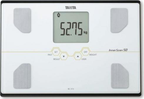 Osobní digitální váha Tanita BC-313 bílá 1