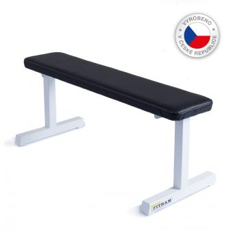 Posilovací lavice na jednoručky Fitham lavice basic white_01_CS