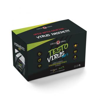 CZECH VIRUS Testo Virus Part 2 - 120 kapslí