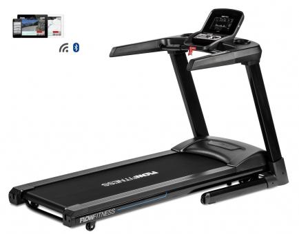 Běžecký pás Flow Fitness T2i profil + app