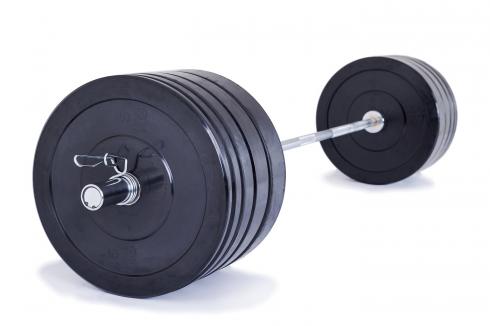 TRINFIT 170 kg Bumper training boční pohled