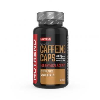 NUTREND Caffeine Caps 60 kapslí