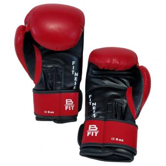 Boxerské rukavice dětské B-fit BAIL červené inside