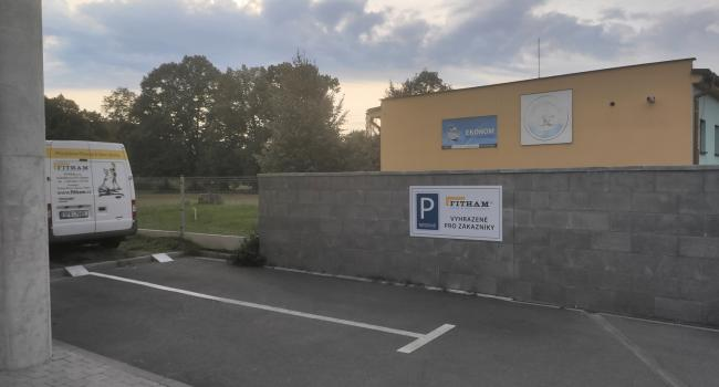 FITHAM Plzeň parkování
