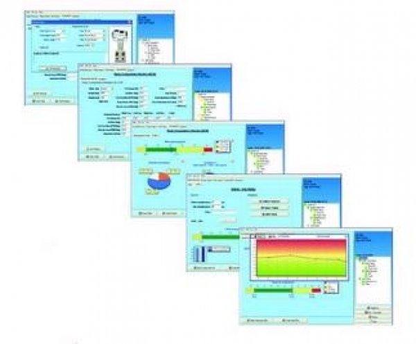 Osobní digitální váha náhledy softwaru Gmon