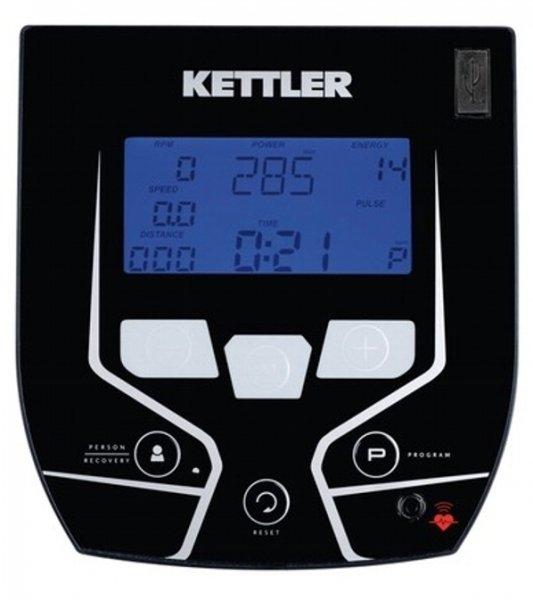 Měření na LCD displeji rotopedu kettler E3