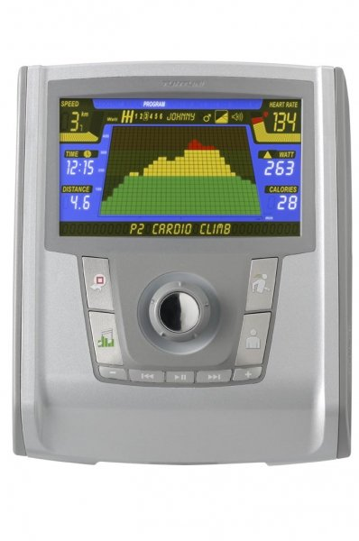 Monitoring výkonu na LCD displeji Tunturi E40