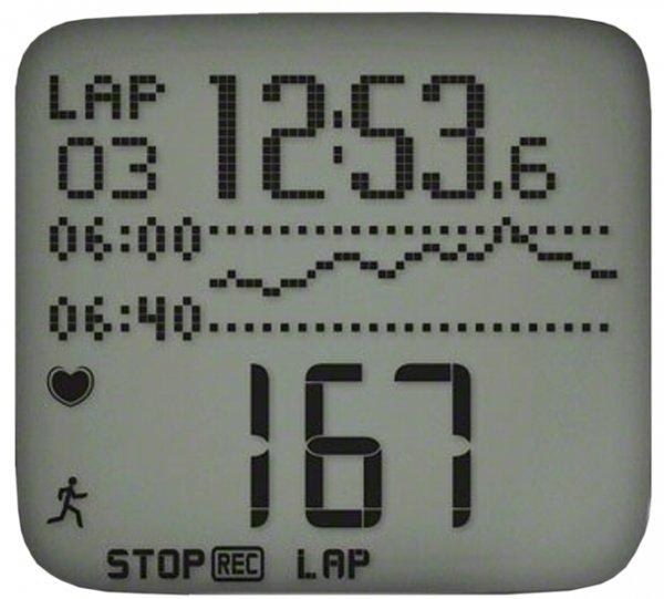polar rs800cx display