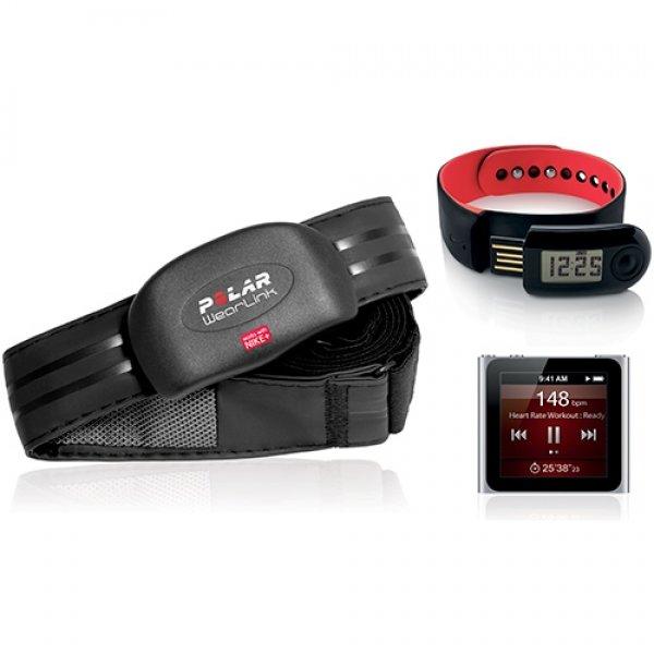POLAR WearLink+ Nike+  s kompatibilními produkty