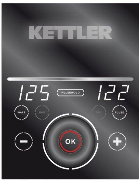 Ovládání rotopedu kettler ergo s displayg