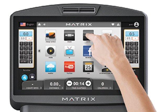 Běžecký pás Matrix T7xi aplikace