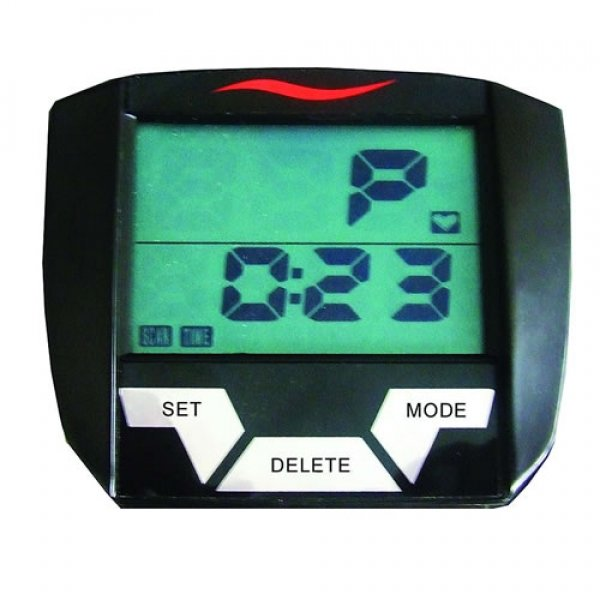 Cyklotrenažér LCD displej cyklotrenažeru Finnlo Speedbike CRT