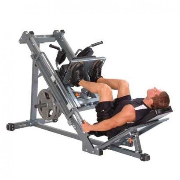 Impulse Fitness legpress + hack squat