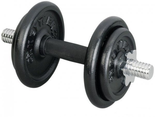 Činky jednoručky KETTLER jednoruční činka 10 kg