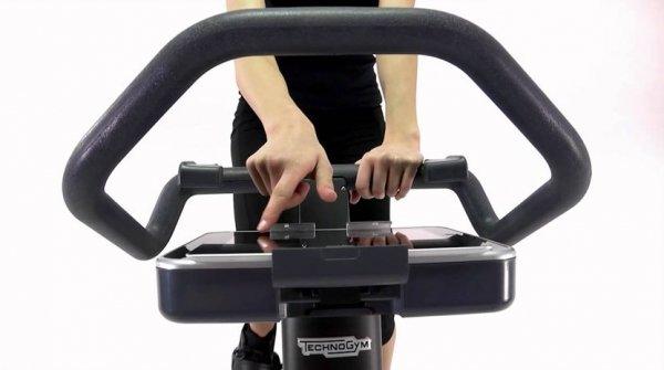 Pohodlné ovládání náročnosti během cvičení forma bike 2014 compg