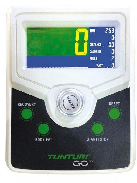 LCD displej rotopedu značky Tunturi Bike GO 70