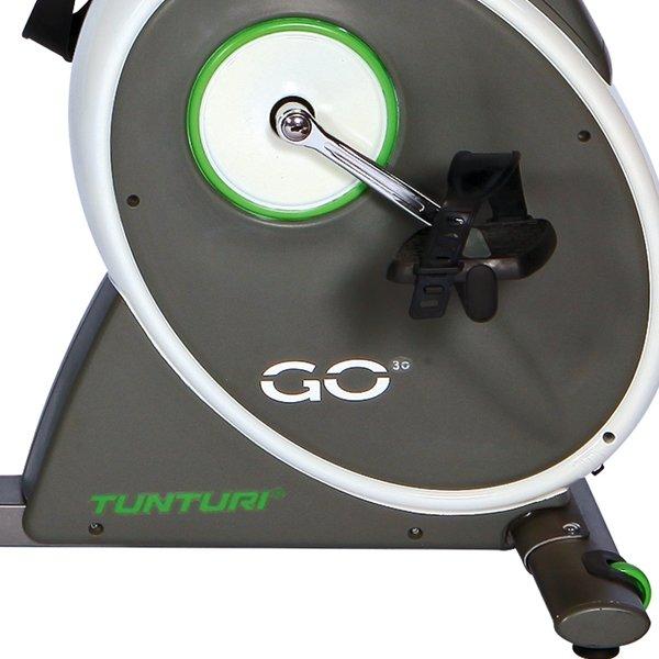 Detailní pohled na fitness stroj - Recumbent Tunturi Bike 30