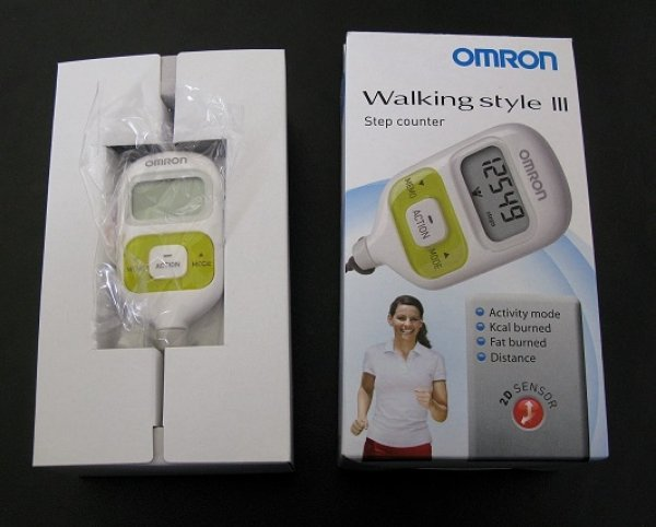 Omron HJ-203-EG Walking Style III