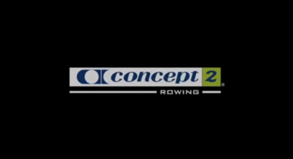 Veslovací trenažér Concept 2 E video