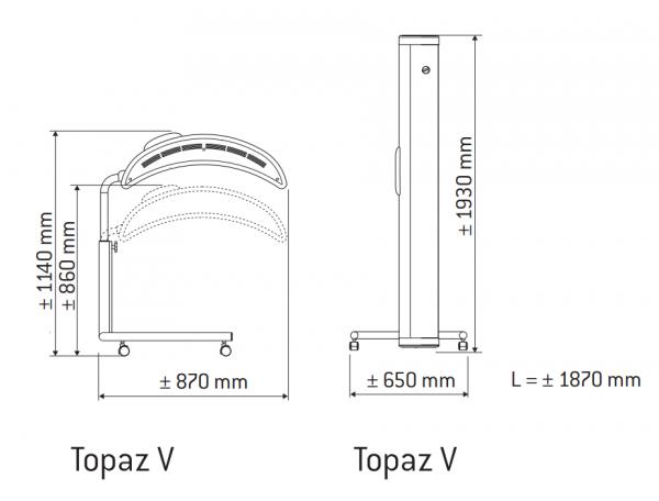 hapro_topaz_V_rozměry