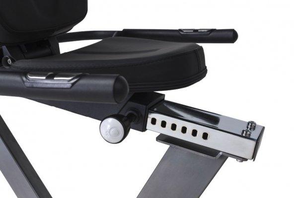 Umístění sedadla a jeho posun - Tunturi go bike 30