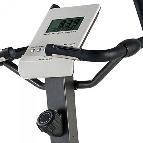 Umístění ovládání obtížnosti u rotopedu Tunturi Pure Bike U 1.1