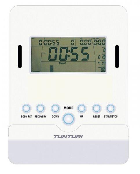 LCD displej horizontálního rotopedu Tunturi Pure Bike U 1.1