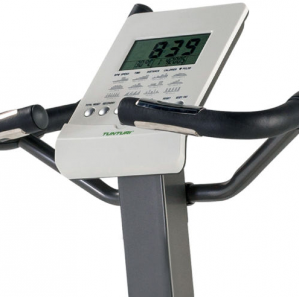 Displej a ovládání u rotopedu Tunturi Pure Bike U 2.1 je optimální