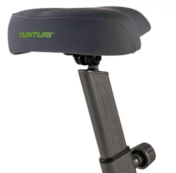 Sedlo je možné nastavit výškově i horizontálně Tunturi Pure Bike U 2.1