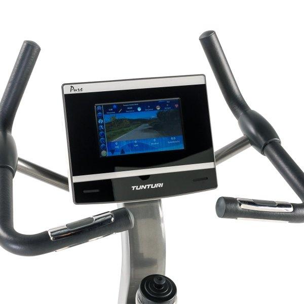 LCD displej u rotopedu Tunturi Pure Bike U 8.1 je podsvícený