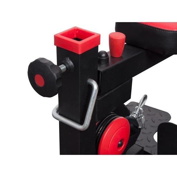 Posilovací lavice s kladkou Stroj s vrchní a spodní kladkou MARBO MS-W101